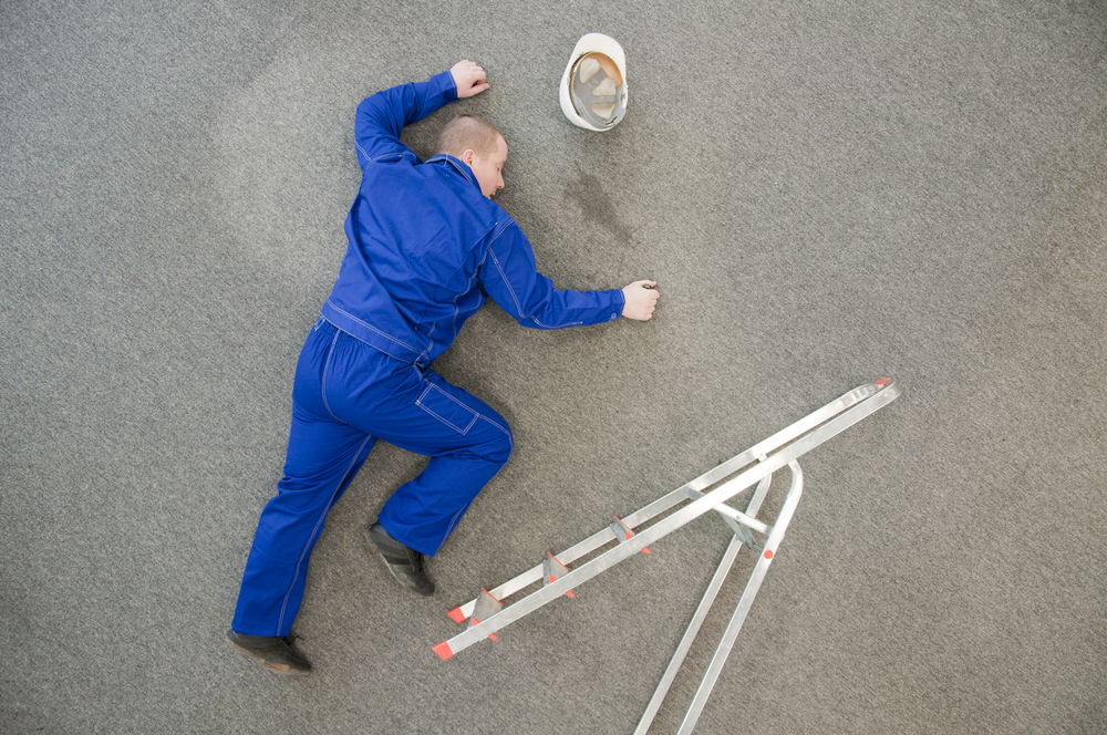 Ladder Accidents At Work Claims Scotland